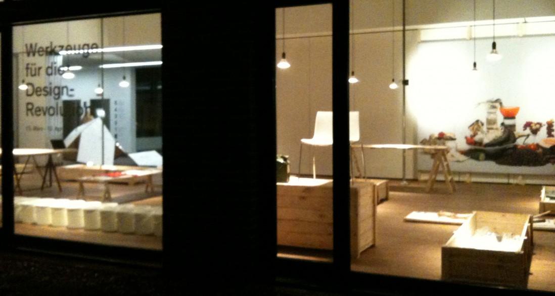 The exhibition on tour: <br /> Tools for the Design Revolution –  designforum Vorarlberg
