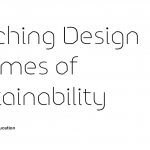 Circle 00006 (r=7) <br /> Teaching Design in Times of Sustainability