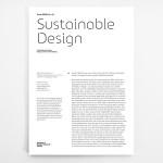 Sustainable Design. Strategien für einen gesellschaftlichen Wandel