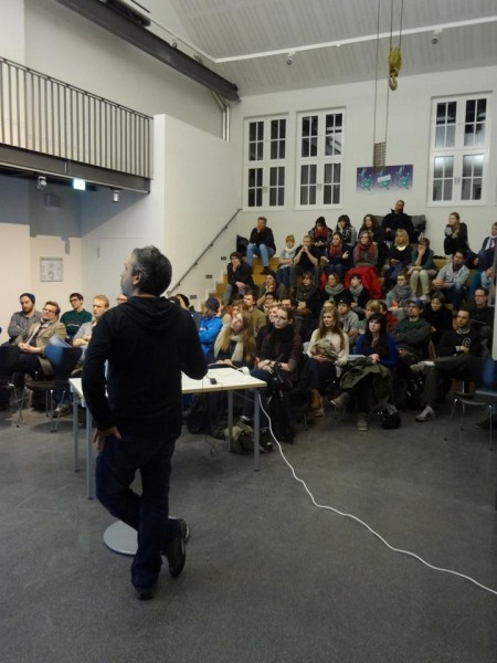 Muthesius Academy of Fine Arts and Design: Design Lecture by Harald Gründl EOOS and IDRV